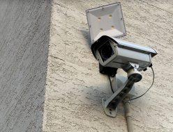壬生町の病院に防犯カメラを設置