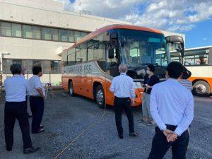 バス環境表面除菌施工②